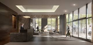 midcentury apartment building lobby search lobby design