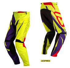 acerbis motocross gear acerbis junior kids hose pants spellblast junior off road