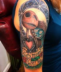 tattoo nightmares is located where 40 cool nightmare before christmas tattoos designs christmas