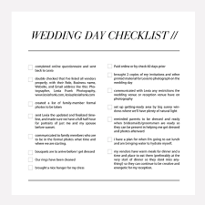 what to get your for wedding wedding day photography checklist all the things your