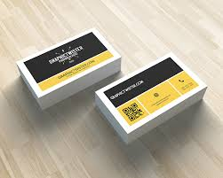 Business Card With Qr Code Corporate Qr Code Business Card Premium And Free Graphic Resources