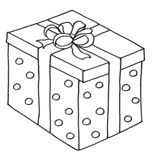 Christmas Presents With Box Coloring Page Christmas Pinterest Box Coloring Pages