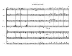 charlie brown theme song free downloadable sheet music
