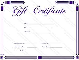 templates gift certificates certificates office com custom gift
