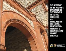 Department Of The Interior National Park Service New Historic Rehabilitation Guidelines