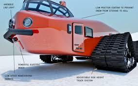 jeep snow tracks 1930s inspired polar snow crawler psc 001 diseno art com