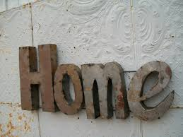 metal home signs hand made custom metal sign for the home with