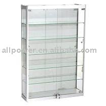 Wall Mounted Display Cabinets With Glass Doors Wall Mounted Display Cabinets Aluminum Profile Tempered Glass