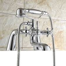 Ballard Design Outlet Roswell 28 Traditional Bath Shower Mixer Taps Silverdale Victorian