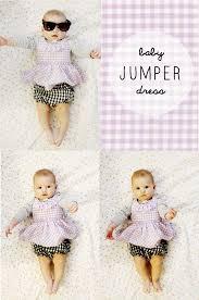 diy tutorial diy baby dress diy free baby jumper dress