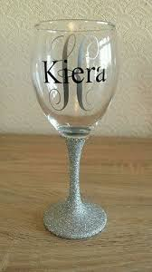 how to personalize a wine glass best 25 glitter wine glasses ideas on sparkling wine