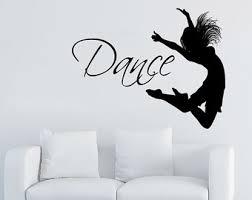 Dance Studio Decor Dance Wall Decal Etsy