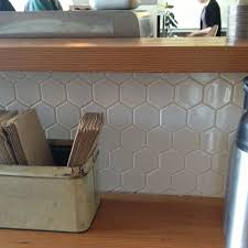 design hexagon tile backsplash wallpaper backsplash behind stove