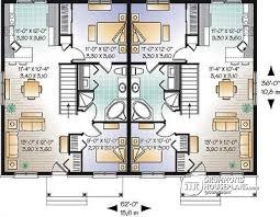 semi detached floor plans chic idea 5 modern semi detached house plans garage home array