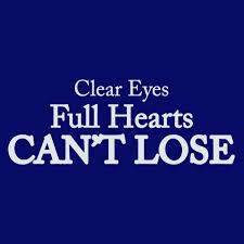 clear hearts can t lose football vinyl wall quote decal