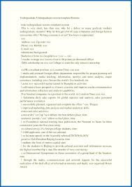 undergraduate resume template undergraduate student resume template embersky me