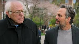 bernie sanders mark ruffalo talk democratic candidate u0027s brooklyn