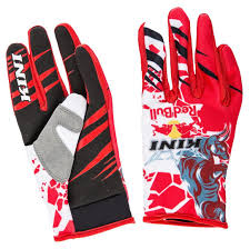 kini motocross gear kini red bull revolution gloves red white beautiful in colors