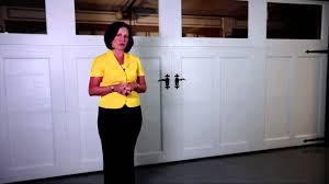 Richard Wilcox Barn Door Hardware by Carriage Style Garage Doors Youtube
