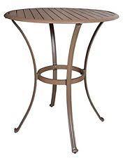 aluminum round patio u0026 garden tables ebay