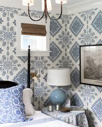 Decorating With Wallpaper by 15 Inspirational Ideas For Decorating With Blue And White