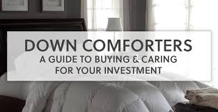 How To Wash A Feather Comforter Down Comforter Guide