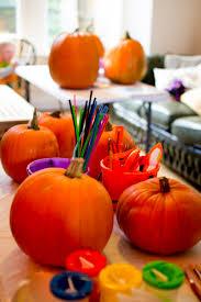 pre halloween pumpkin carving workshop