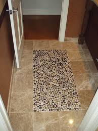 bathroom floors of river rock some fabulous ideas home ideas