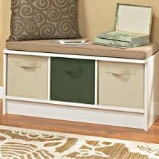 Real Simple Split Top Bench Storage Unit Instructions by Amazon Com Closetmaid 1569 Cubeicals 3 Cube Storage Bench White