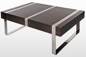 contemporary coffee table wooden metal morton 4 orm