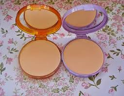 Bedak Viva review viva compact powder lilac