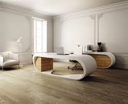 Contemporary Home Office Furniture Modern Home Office Design Featuring White Wall Paint Themes
