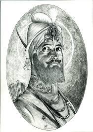 sketch of shri guru gobind singh ji desipainters com