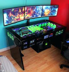 cheap gaming computer desk computer desk ideas for gaming custom computer desk plans best
