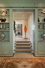 Built In Cabinets Nantucket Style Furniture Staircase Transitional With Built In