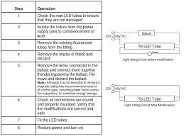 led tube installation wiring diagram ul cul dlc led tube light t8