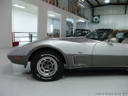 25th anniversary corvette value 1978 corvette l82 25th silver anniversary edition only 3 023