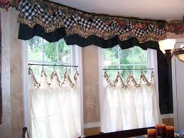 Checkered Kitchen Curtains And White Plaid Kitchen Curtains How To Decorate With Plaid