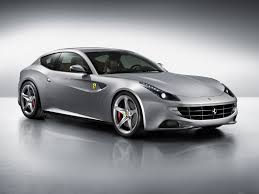 travel ferrari ff new model 2011 2012 sideview grey colour