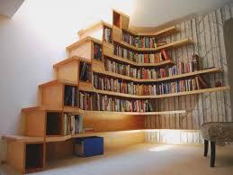 Family Room Cool Bookcases Ideas Cool White Corner Bookcase With Storage Cabinets Mattash Home