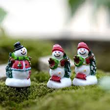Christmas Decorations Wholesale Melbourne by Aliexpress Com Buy Mini Christmas Figurines Tree Santa Claus