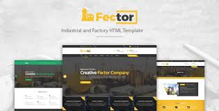 fector factory u0026 industrial business html template by irstheme