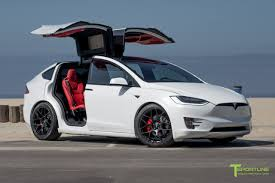 white bentley 2016 pearl white 2016 tesla model x p90d ludicrous custom bentley red