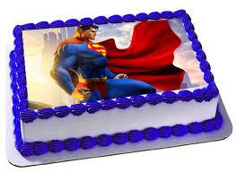 edible cake images superman edible cake topper superman frosting sheet superman