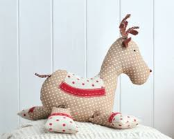 roger reindeer make a festive toy free sewing patterns sew