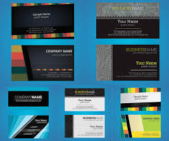 business cards vector graphics art free download design ai eps