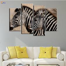 Animal Print Home Decor by Zebra Print Canvas Wall Art Shenra Com