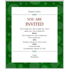 professional invitation templates free ideas chic professional