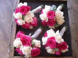 small pink bridesmaid bouquet the bridesmaid u0027s bouquets of cream