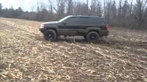 Fierce Off Road Tires 2002 Wj In The Mud Youtube